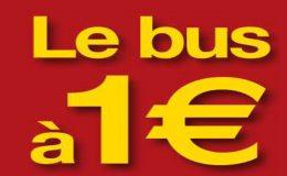 flyer Bus 1 euro